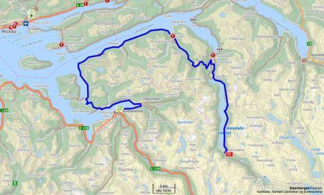 Åndalsnes - Eikesdalen