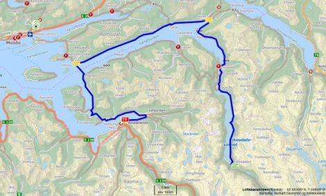 Eikesdalen - Åndalsnes