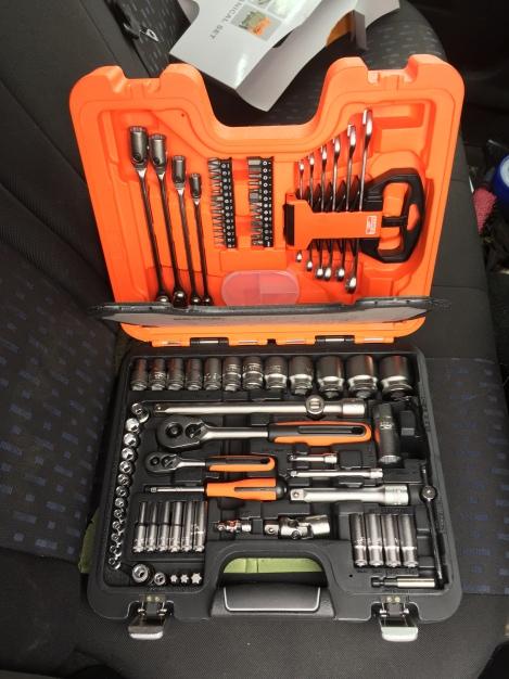Bahco toolset